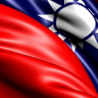 Flag of Taiwan — Stock Photo #5620983