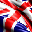 Stock Photo: Flag of UK