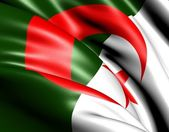 Flag of Algeria — Stock Photo