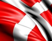 Flag of Denmark — Fotografia Stock
