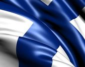 Flag of Finland — Stock Photo