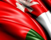 Flag of Oman — Stock Photo