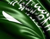 Vlag van saoedi-arabië — Stockfoto