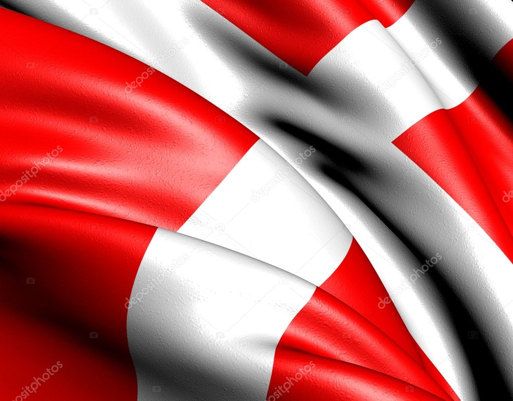 Flag of Denmark. Close up.  — Stock Photo #5620713