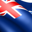 Flag of Queensland — Stock Photo