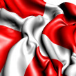 Flag of Denmark — Stock Photo #5795397