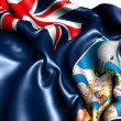 Flag of Falkland Islands — Lizenzfreies Foto