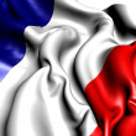 Flag of France — Stock Photo