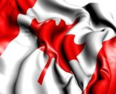 Flagga kanada — Stockfoto