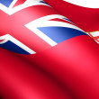 Stock Photo: Flag of Ontario