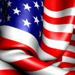 flag of usa — Stock Photo #5865311