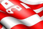 Bandiera di alkmaar — Foto Stock