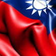 Flag of Taiwan — Stock Photo #5913900