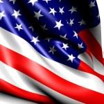 Flag of USA — Stock Photo #5935109