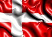 Flag of Denmark — Stock Photo