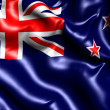 Flag of New Zealand - Stock Photo