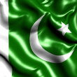 Flag of Pakistan - Stock Photo