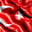 Flag of Turkey - Stock Photo