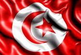 Flaga tunezji — Zdjęcie stockowe