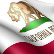 Flag of California — Stok fotoğraf