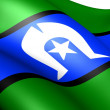 Torres Strait Islanders flag — Stock Photo #5998513
