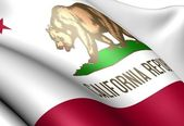 Flag of California — Stock fotografie