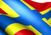 Flaga orkadów — Zdjęcie stockowe