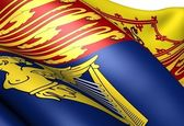 皇家标准的联合王国的国旗 — 图库照片
