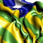Flag of Piaui — Stock Photo