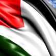 Flag of Palestine — Stock Photo