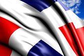 Flag of Dominican Republic — Photo