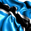 Flag of Botswana — Stock Photo #6058147