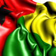 Flag of Guinea-Bissau — Stock Photo #6058303