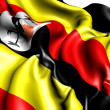 Flag of Uganda — Stock Photo #6058573