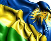 Flag of Rwanda — Stock Photo