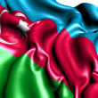 Flag of Azerbaijan — Stock Photo