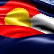 Stock Photo: Flag of Colorado