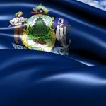Flag of Maine — Stock Photo