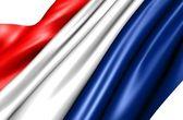 Bandeira dos países baixos — Foto Stock
