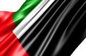Bandiera degli emirati arabi — Foto Stock
