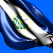 Flag of El Salvador — Stock Photo