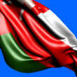 Flag of Oman - Stock Photo