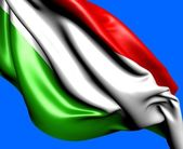 国旗的匈牙利 — 图库照片