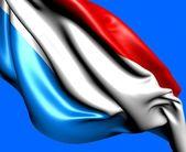 Flag of Luxemburg — Stock Photo