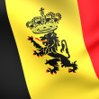 Government Ensign of Belgium — Stock Photo #6501277