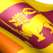 Flag of Sri Lanka — Stock Photo