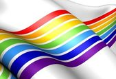 Jewish Autonomous Oblast flag — Stock Photo