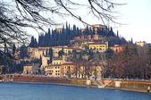 Castel San Pietro, Verona, Italy — Stock Photo