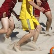 Royalty-Free Stock Photo: Beach soccer