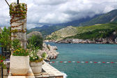 Adriatic seacoast, Montenegro — Stock Photo